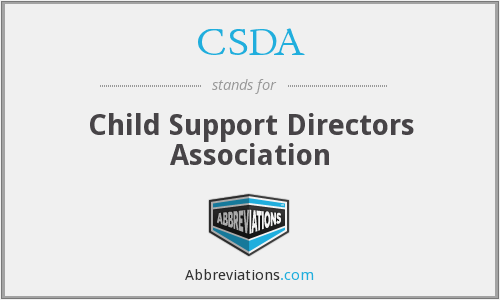 CSDA - Child Support Directors Association