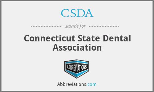 CSDA - Connecticut State Dental Association