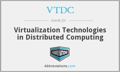 What does VTDC stand for?