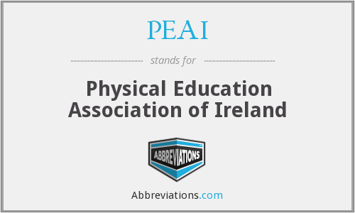What does PEAI stand for?
