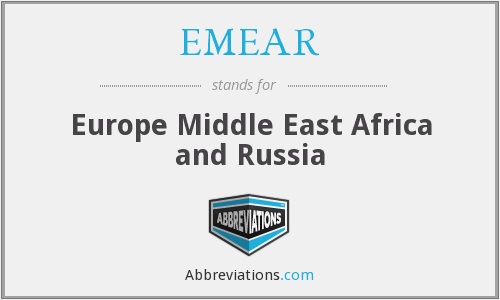 What does EMEAR stand for?