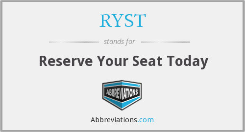 What does RYST stand for?