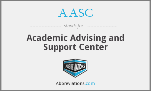 AASC - Academic Advising and Support Center