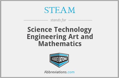 STEAM - Science Technology Engineering Art and Mathematics