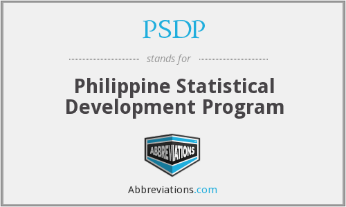 What does PSDP stand for?