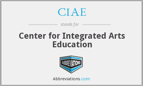 What does CIAE stand for?