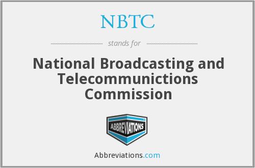 NBTC - National Broadcasting and Telecommunictions Commission