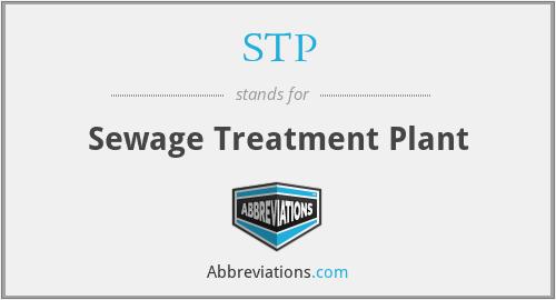STP - Sewage Treatment Plant