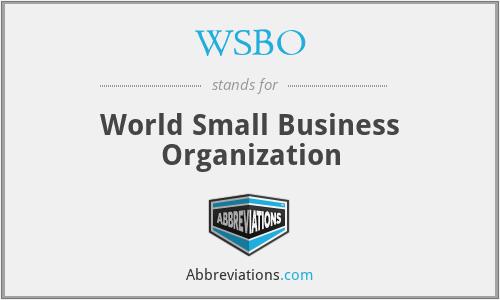 WSBO - World Small Business Organization