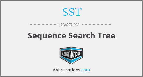 SST - Sequence Search Tree