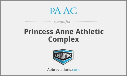PAAC - Princess Anne Athletic Complex