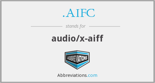 .AIFC - audio/x-aiff