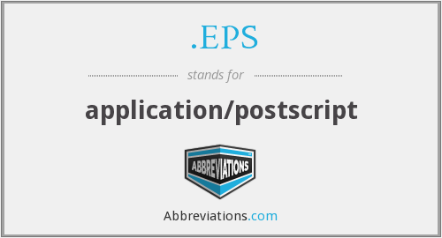.EPS - application/postscript
