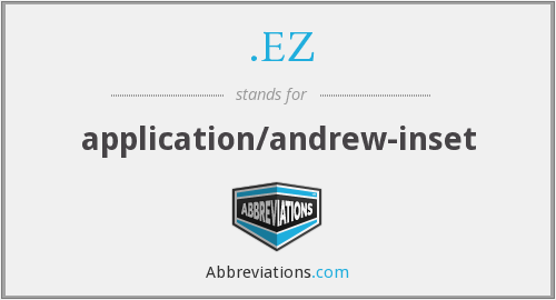 .EZ - application/andrew-inset