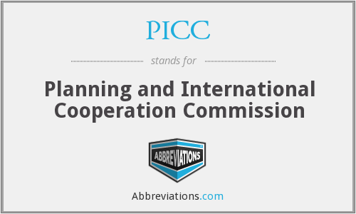 PICC - Planning and International Cooperation Commission