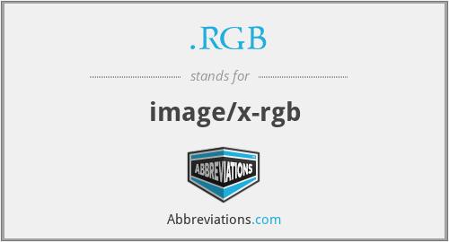 .RGB - image/x-rgb