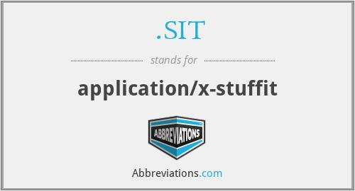 .SIT - application/x-stuffit