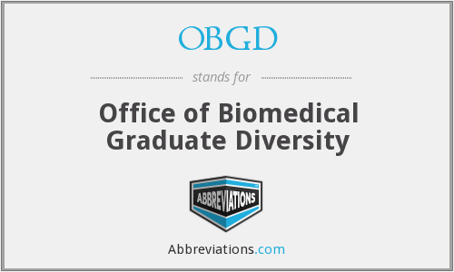 What does OBGD stand for?
