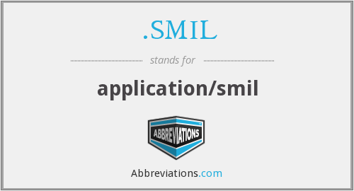 .SMIL - application/smil