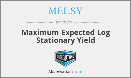 What does MELSY stand for?