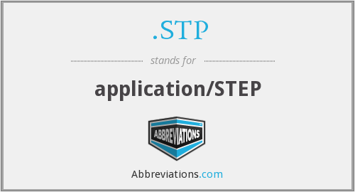 .STP - application/STEP