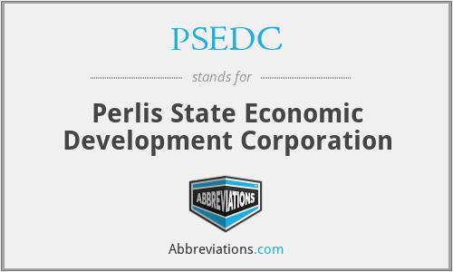 PSEDC - Perlis State Economic Development Corporation