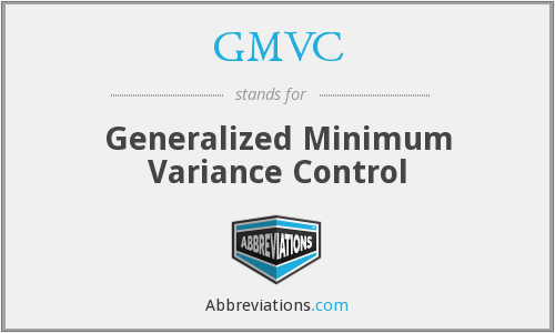 What does GMVC stand for?