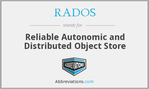 What does RADOS stand for?
