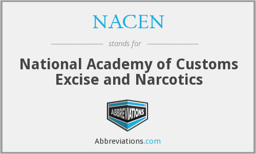 What does NACEN stand for?