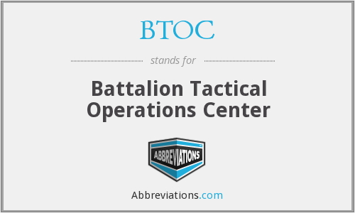 What does BTOC stand for?