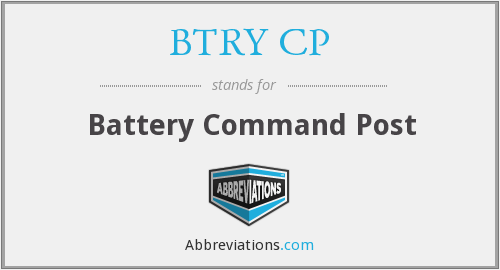What does BTRY CP stand for?