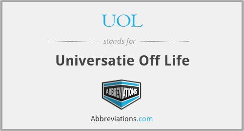 UOL - Universatie Off Life