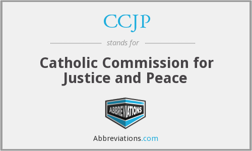 What does CCJP stand for?