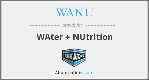 What does WANU stand for?