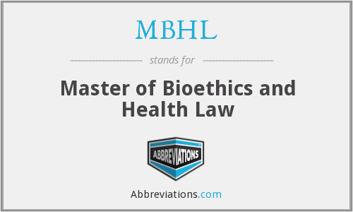 What does MBHL stand for?