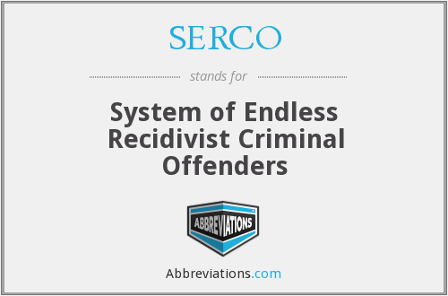 What does recidivist stand for?