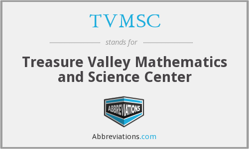 What does TVMSC stand for?