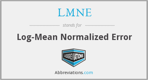 What does LMNE stand for?