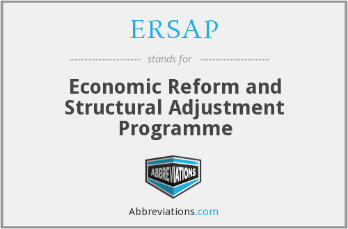 What does ERSAP stand for?