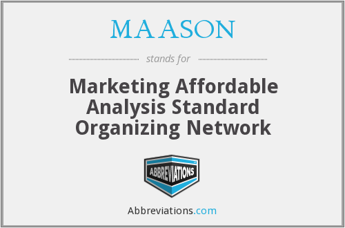 What does MAASON stand for?