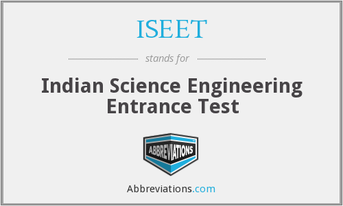 What does ISEET stand for?