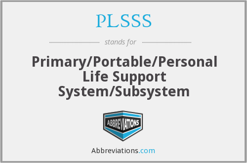 What does PLSSS stand for?
