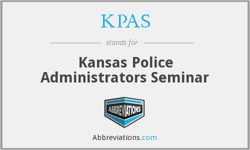 What does KPAS stand for?