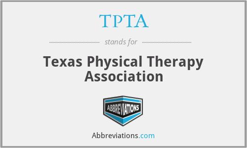 TPTA - Texas Physical Therapy Association