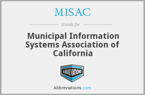 What does MISAC stand for?