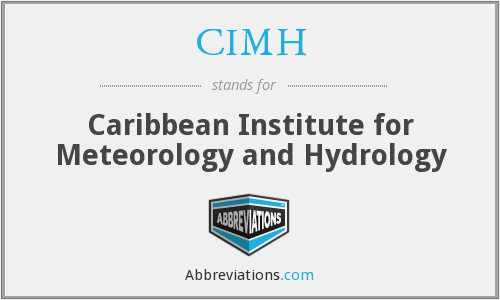 CIMH - Caribbean Institute for Meteorology and Hydrology