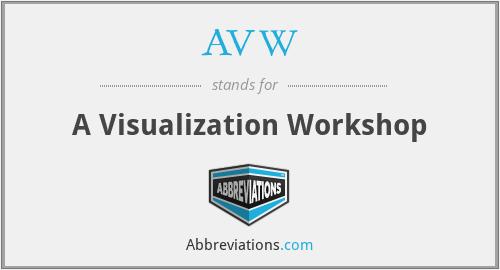 AVW - A Visualization Workshop