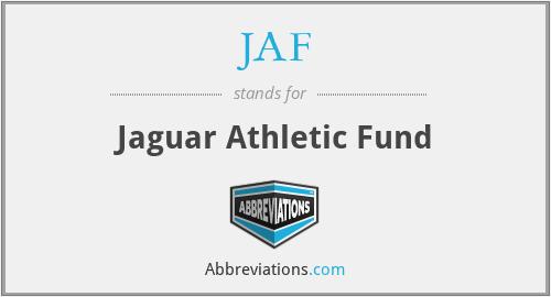 JAF - Jaguar Athletic Fund