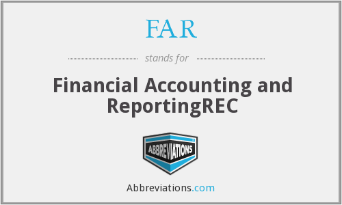 FAR - Financial Accounting and ReportingREC