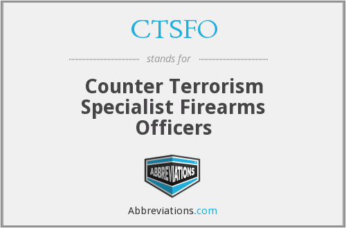What does CTSFO stand for?